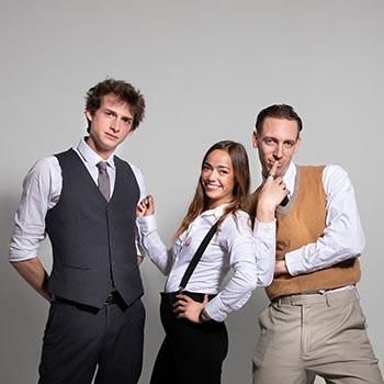 Elodie, Edouard & Harold